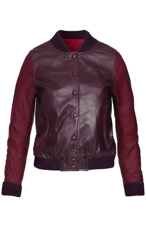 Jacheta cu detalii din piele, H&M