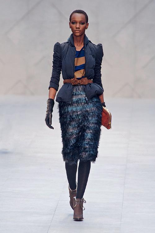 Tendinte moda toamna 2012: Shades of blue