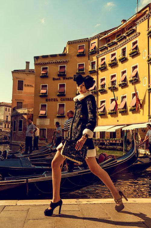 Editorial fashion: A Venezia!