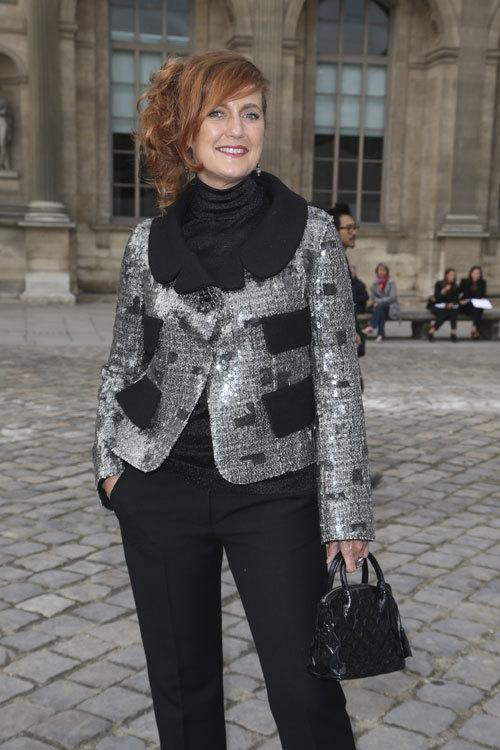 Celebritati la prezentarea Louis Vuitton primavara vara 2013