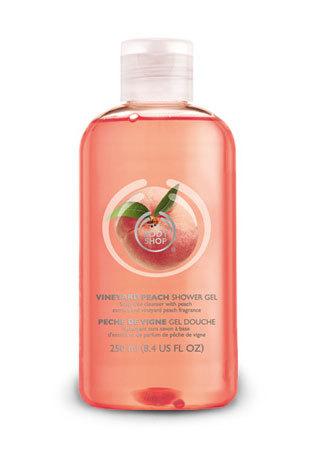 Gel de dus Vineyard Peach, The Body Shop
