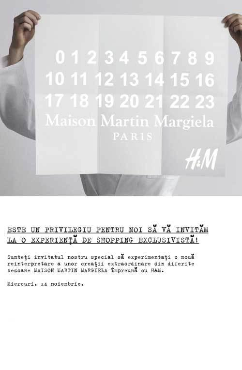 Castigatorii concursului MAISON MARTIN MARGIELA with H&M, de pe pagina de facebook