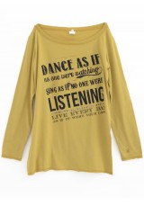 Tricou cu imprimeu, Dimensione Danza