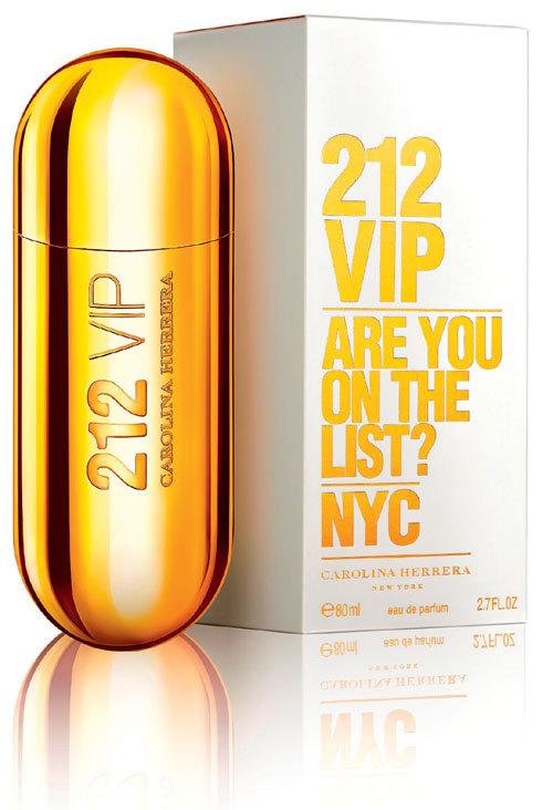 Noul parfum 212 Are You On The List?, Carolina Herrera