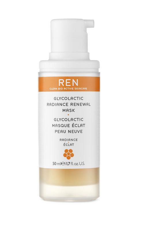 Masca de reinnoire Glycolactic Radiance, REN