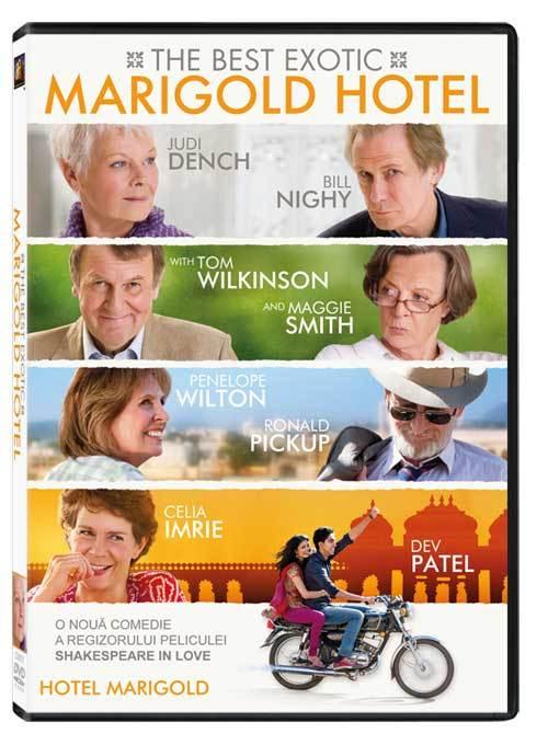 Best Exotic Marigold Hotel, disponibil pe DVD