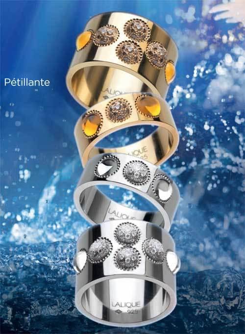 Noua linie de bijuterii Petillante, Lalique