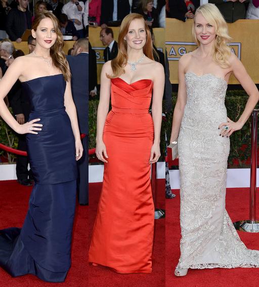 SAG Awards 2013 – cele mai frumoase rochii de pe covorul rosu