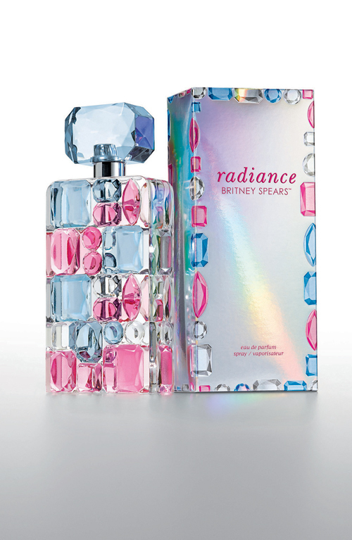 Parfumul Cosmic Radiance, Britney Spears
