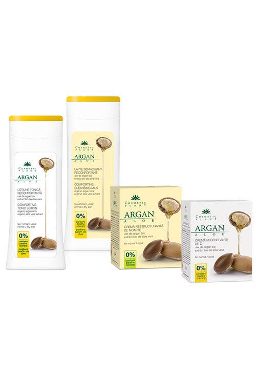 Noua gama Cosmetic Plant cu ulei de argan si extract de aloe vera