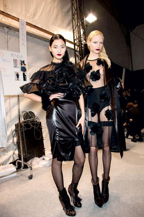Tendinte moda: Dantela si materiale transparente