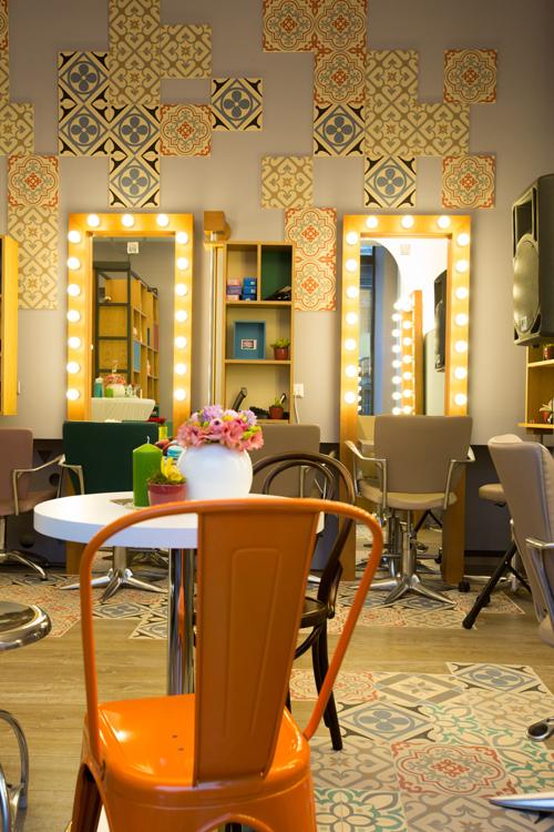 Inaugurarea salonului Beauty District din Calea Victoriei