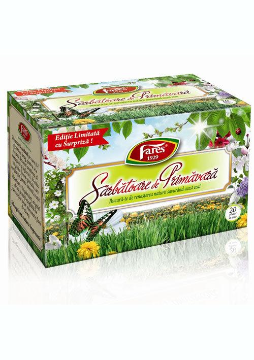 Sarbatoare de primavara, ceai aromat Fares