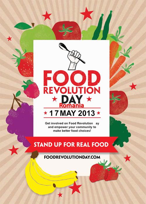 Food Revolution Day, sarbatorita pe 17 mai si in Romania