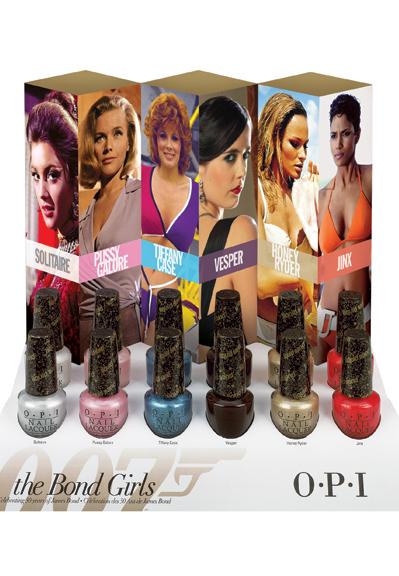 OPI lanseaza Bond Girl Collection