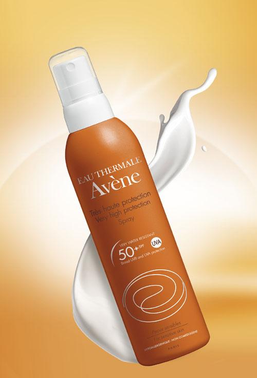 Noul Spray cu SFP 50 Avene
