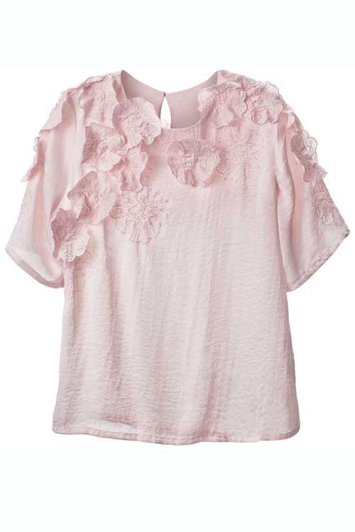 Roz si alb, combinatia sezonului