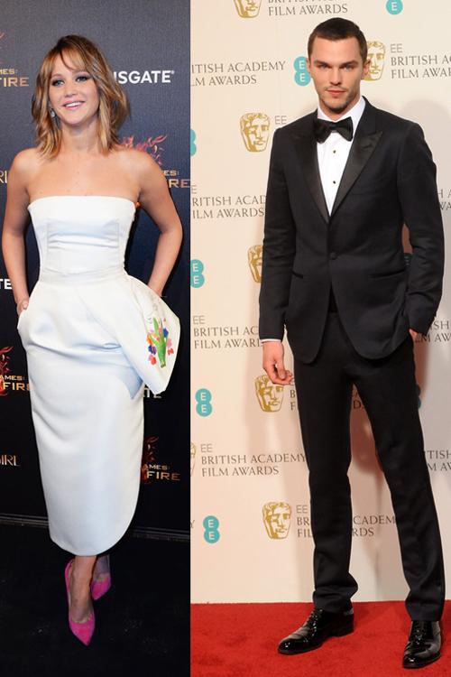 Jennifer Lawrence si Nicholas Hoult s-au impacat