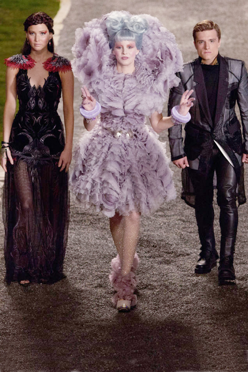 "Colectie vestimentara de lux inspirata din seria ""The Hunger Games"""