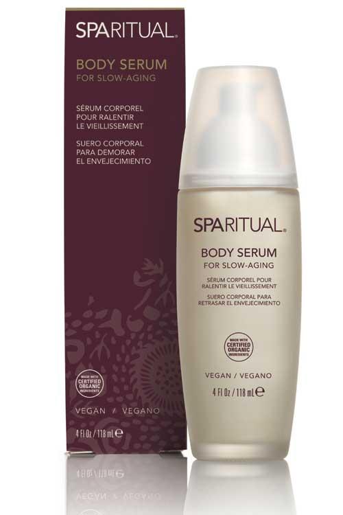 SpaRitual Body Serum for Slow-Aging incetineste imbatranirea