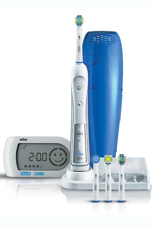Noua periuta electrica Oral-B Triumph 5000 cu SmartGuide