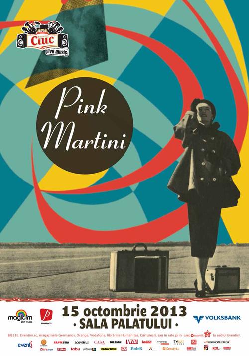 Pink Martini aduce un omagiu Mariei Tanase