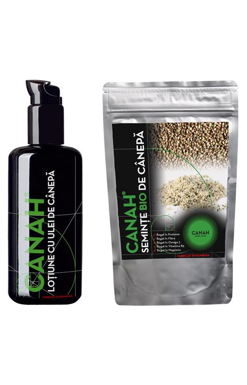 O alimentatie sanatatoasa cu produsele Canah
