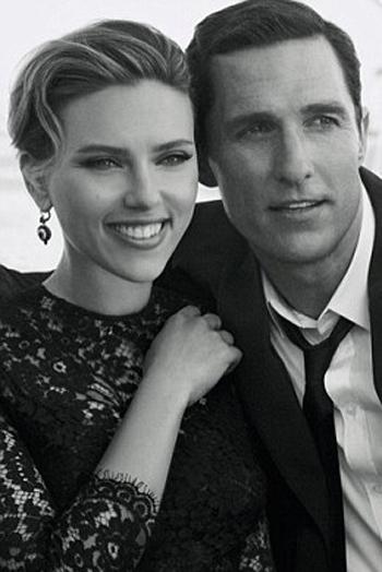 Scarlett Johansson si Matthew McConaughey, cuplu in campania Dolce&Gabbana Perfumes