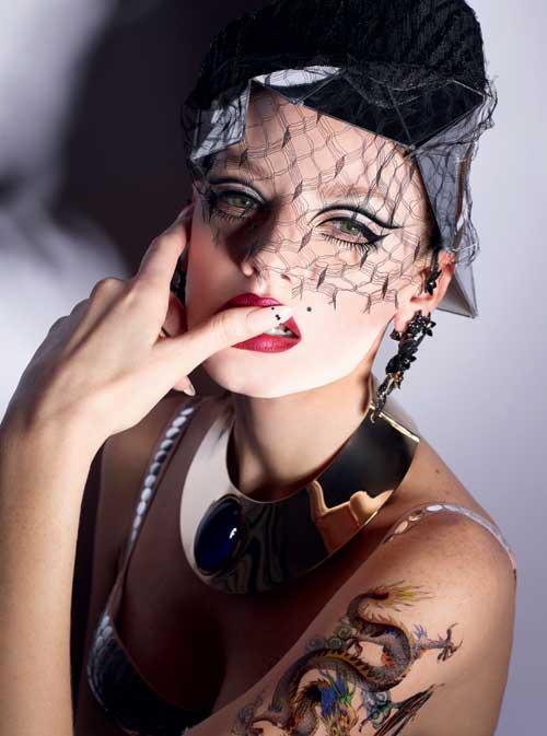 ELLE BEAUTY: Yakuza Glamour