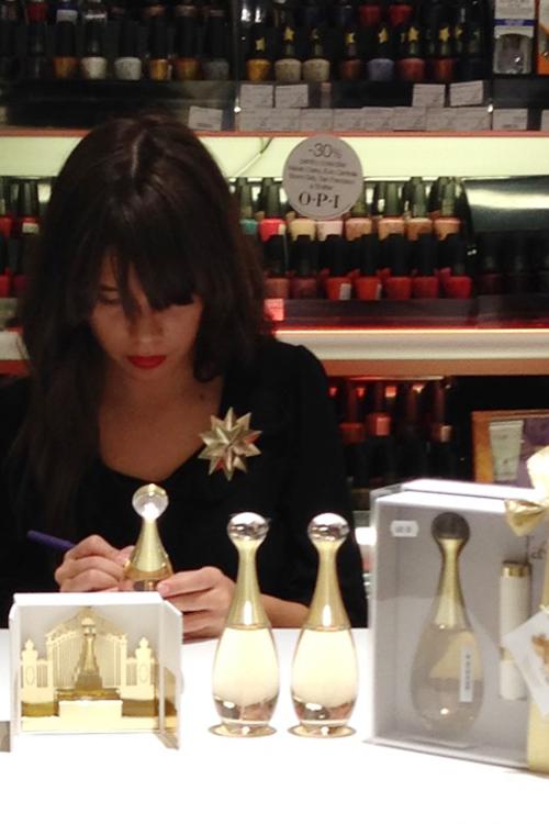 Parfumurile Christian Dior, personalizate cu ocazia Sarbatorilor