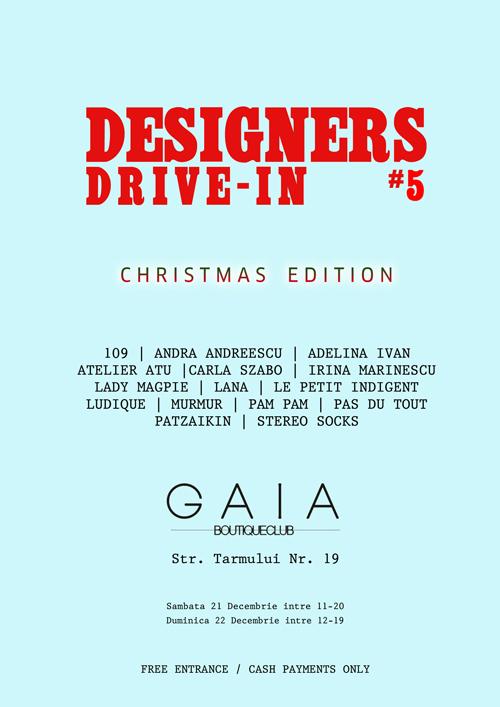 """""""Designers Drive In"""" la Gaia Boutique Club"""