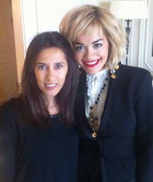 Rita Ora si Alice Bursuc (ELLE)