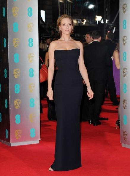 Vedete pe covorul rosu la decernarea premiilor BAFTA 2014