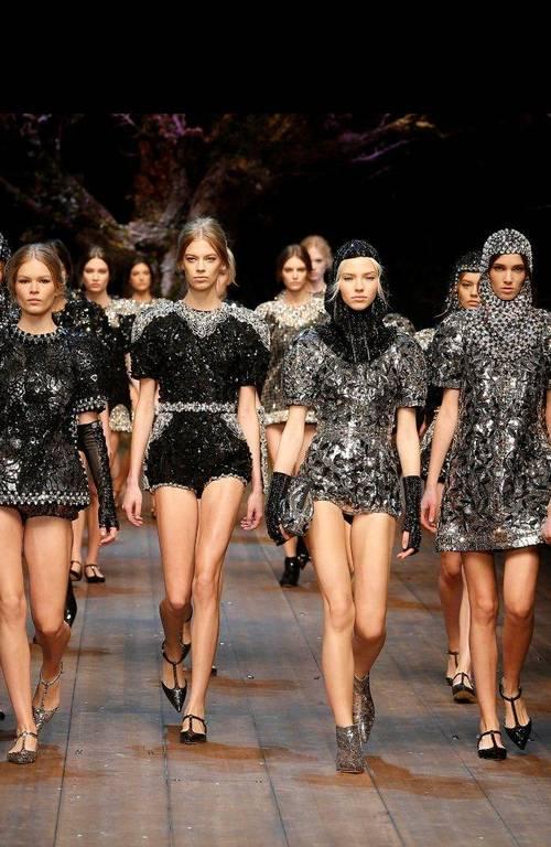 Dolce&Gabbana a lansat colectia toamna iarna 2014/2015