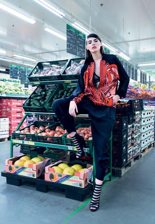 ELLE FASHION: Art, Fashion & Rock'n'roll