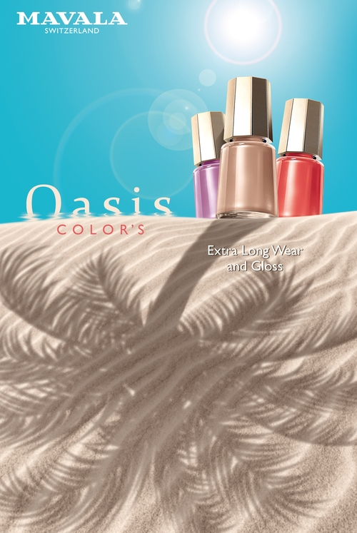 Colectia Oasis de la Mavala, suava ca o briza de vara!