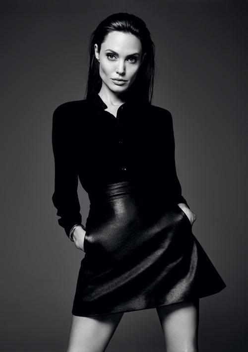 ELLE EXCLUSIV – Angelina