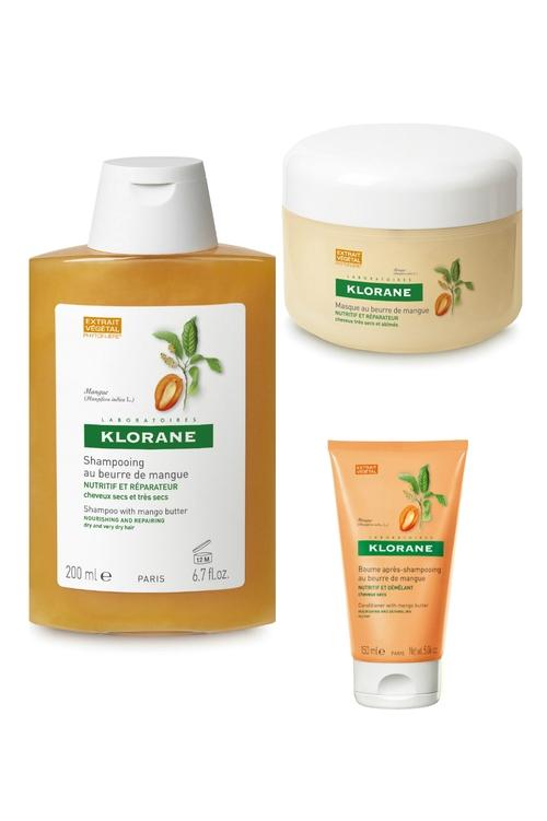 Protejeaza-ti parul cu noua gama Klorane cu unt de Mango