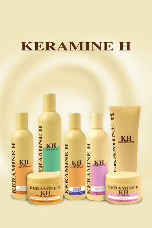 Frumusete si sanatate pentru par cu produsele Keramine H
