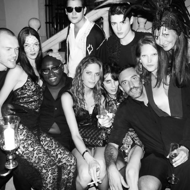 Aniversarea designer-ului Riccardo Tisci – cea mai cool petrecere a weekend-ului