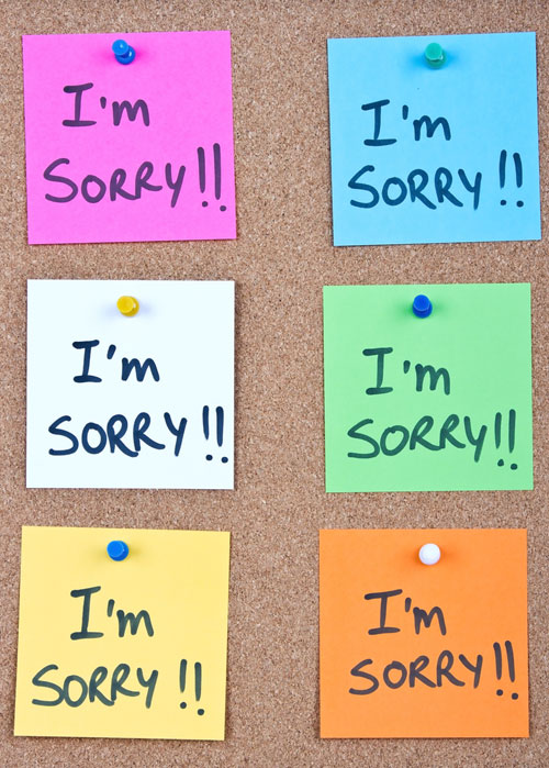 """10 momente cand nu ar trebui sa spunem """"Imi pare rau"""""""