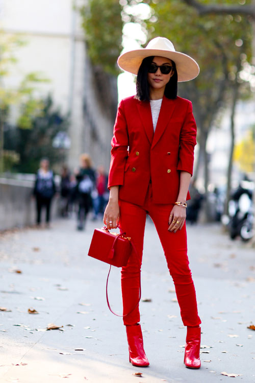 Looks of the day @ Paris Fashion Week