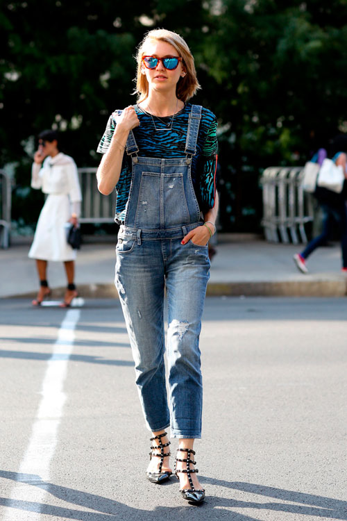 Looks of the day @ New York Fashion Week – cele mai cool & interesante aparitii ale zilei