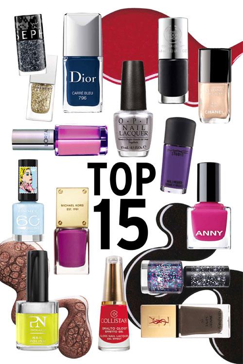 TOP 15 Cele mai hot lacuri de unghii ale toamnei