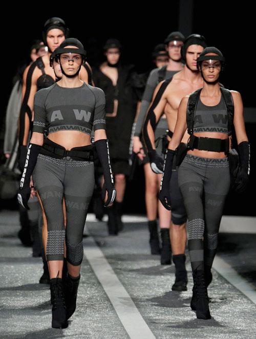 Colectia Alexander Wang x H&M, prezentata la New York