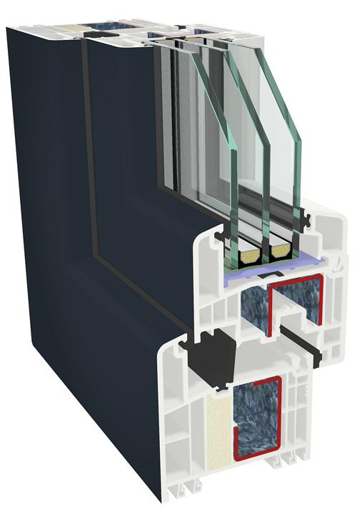 Gealan lanseaza fereastra FUTURA pentru case pasive, cu o valoare de izolare termica unica