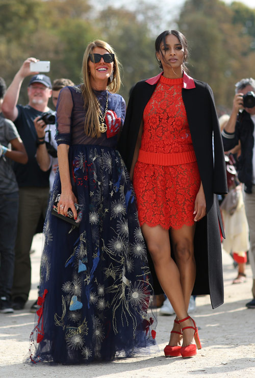 Looks of the day @ Paris Fashion Week (II)