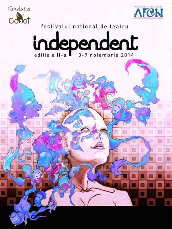 Programul Festivalului National de Teatru Independent