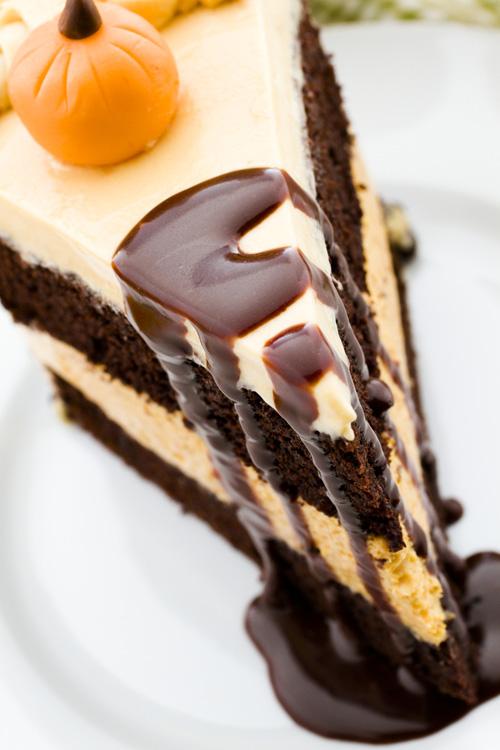 Tort cu ciocolata si dovleac