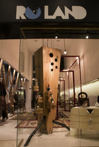 RO.LAND, primul concept store de design romanesc contemporan